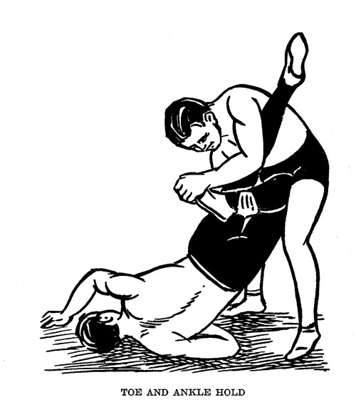 Catch-Wrestling-Toe-Hold